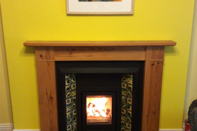 Reviving a Victorian Fireplace