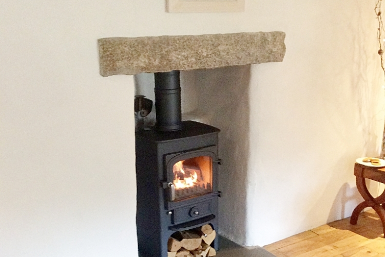 Clearview Traditional fireplace