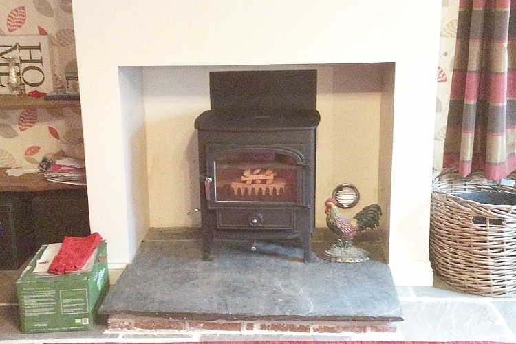 Clearview woodburner