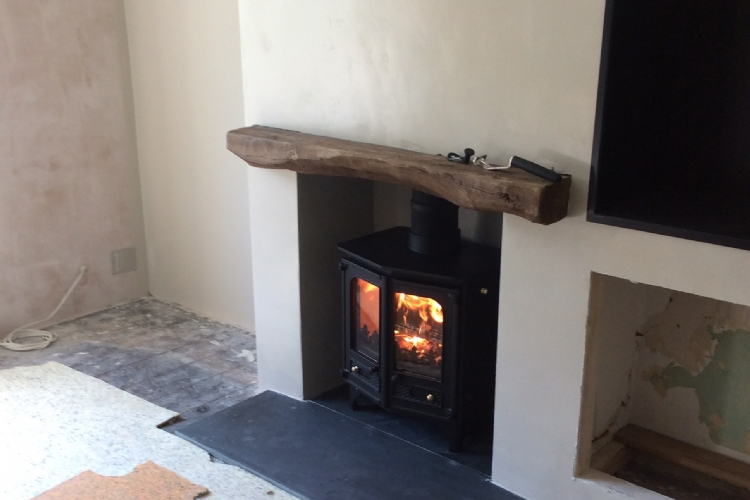 Charnwood Country in a renovation project