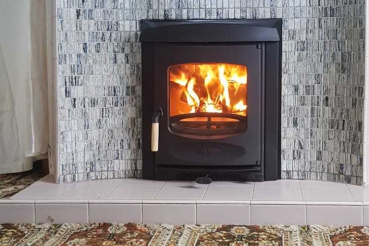 Charnwood C4 inset to replace an open fire